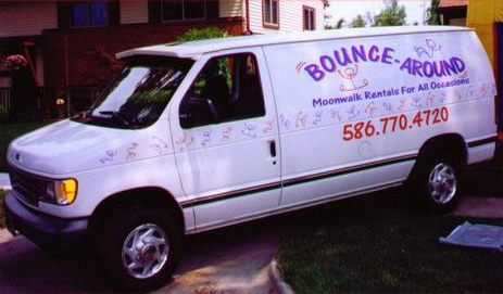Bounce Around Van - Moonwalk Rentals For All Occassions