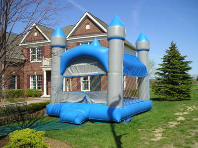 The Castle  Inflatable Moonwalk Bouncer