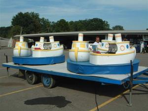 Carnival Rides - Boat Carousel