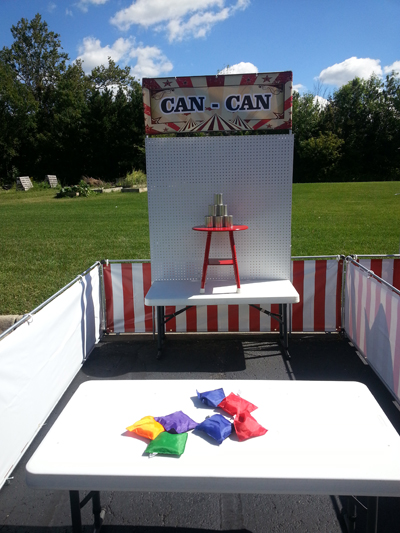 Can-Can Carnival Game