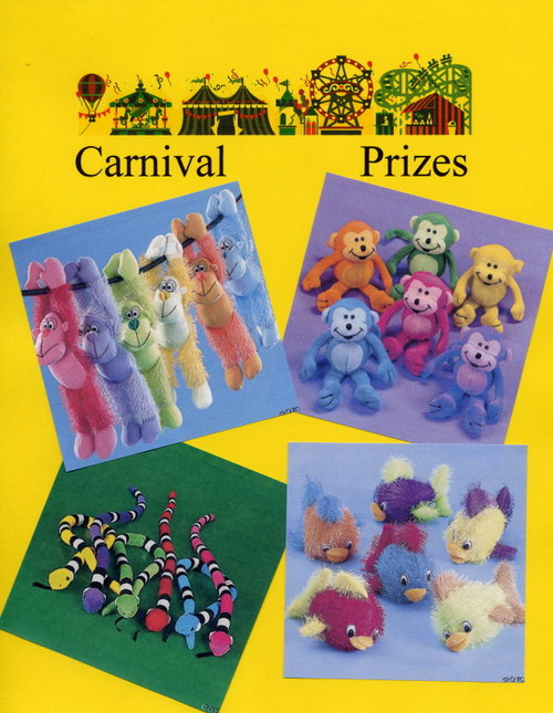 Carnival Prizes - Stuffed Animals