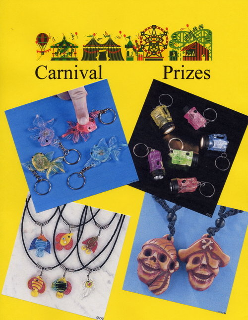 Carnival Prizes - Key Chains, Necklaces